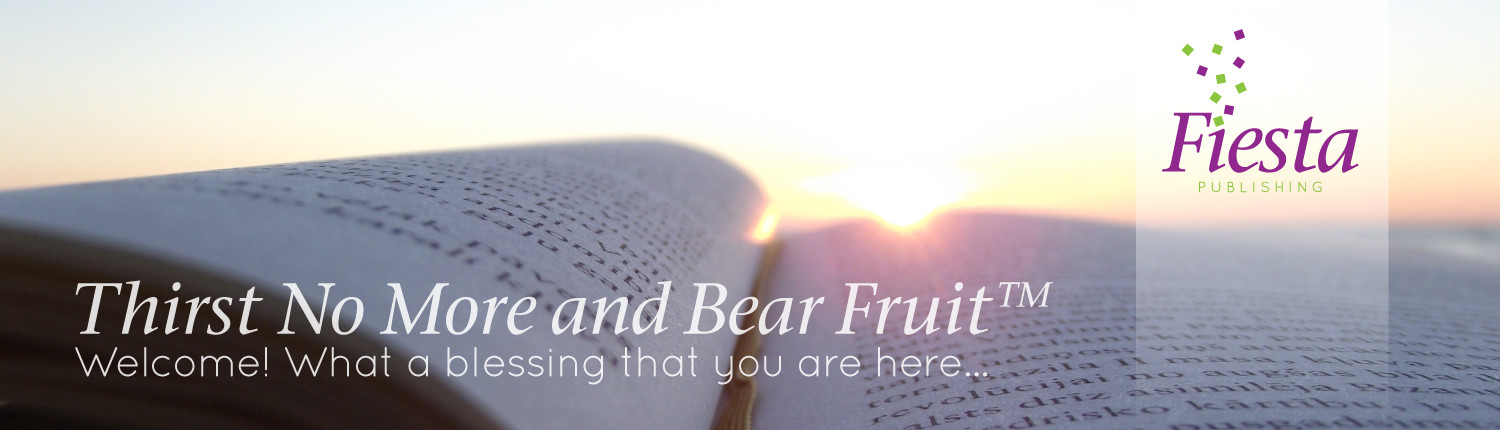 Thirst No More and Bear Fruit Cover Slide